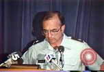 Image of American Air Force officer speaks about human rights in Nicaragua Nicaragua, 1983, second 25 stock footage video 65675031643