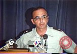 Image of American Air Force officer speaks about human rights in Nicaragua Nicaragua, 1983, second 26 stock footage video 65675031643