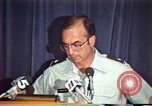 Image of American Air Force officer speaks about human rights in Nicaragua Nicaragua, 1983, second 33 stock footage video 65675031643