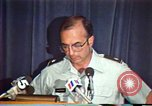 Image of American Air Force officer speaks about human rights in Nicaragua Nicaragua, 1983, second 34 stock footage video 65675031643