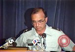 Image of American Air Force officer speaks about human rights in Nicaragua Nicaragua, 1983, second 35 stock footage video 65675031643