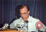 Image of American Air Force officer speaks about human rights in Nicaragua Nicaragua, 1983, second 37 stock footage video 65675031643
