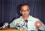 Image of American Air Force officer speaks about human rights in Nicaragua Nicaragua, 1983, second 38 stock footage video 65675031643