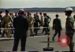 Image of Contras training Fort Benning Georgia USA, 1983, second 25 stock footage video 65675031644