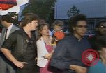 Image of Star Wars Return of the Jedi opening Washington DC USA, 1983, second 43 stock footage video 65675031655