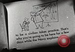 Image of American sailors United States USA, 1945, second 37 stock footage video 65675031663
