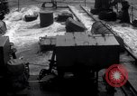 Image of Sailors chop ice from Japanese light cruiser Aleutians, 1942, second 23 stock footage video 65675031671