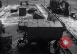 Image of Sailors chop ice from Japanese light cruiser Aleutians, 1942, second 24 stock footage video 65675031671