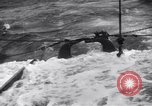 Image of Sailors chop ice from Japanese light cruiser Aleutians, 1942, second 59 stock footage video 65675031671