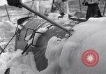 Image of Japanese light cruiser covered in ice Aleutians, 1942, second 37 stock footage video 65675031673