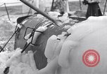 Image of Japanese light cruiser covered in ice Aleutians, 1942, second 38 stock footage video 65675031673
