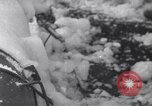 Image of Japanese light cruiser covered in ice Aleutians, 1942, second 42 stock footage video 65675031673