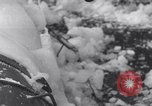 Image of Japanese light cruiser covered in ice Aleutians, 1942, second 43 stock footage video 65675031673