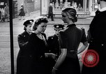 Image of British women in wartime United Kingdom, 1940, second 3 stock footage video 65675031681