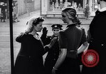 Image of British women in wartime United Kingdom, 1940, second 4 stock footage video 65675031681