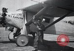 Image of Colonel Charles A Lindbergh Antwerp Belgium, 1928, second 8 stock footage video 65675031735