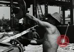 Image of German construction Wiesbaden Germany, 1954, second 56 stock footage video 65675031778