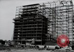 Image of construction Wiesbaden Germany, 1954, second 8 stock footage video 65675031779
