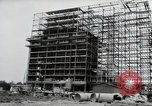 Image of construction Wiesbaden Germany, 1954, second 12 stock footage video 65675031779