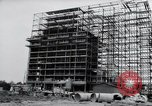 Image of construction Wiesbaden Germany, 1954, second 14 stock footage video 65675031779