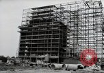 Image of construction Wiesbaden Germany, 1954, second 15 stock footage video 65675031779