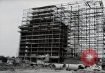 Image of construction Wiesbaden Germany, 1954, second 16 stock footage video 65675031779