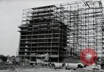 Image of construction Wiesbaden Germany, 1954, second 17 stock footage video 65675031779