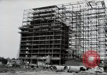 Image of construction Wiesbaden Germany, 1954, second 20 stock footage video 65675031779