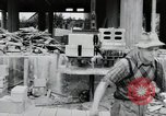 Image of construction Wiesbaden Germany, 1954, second 57 stock footage video 65675031779
