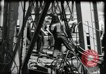 Image of construction of bridge Wiesbaden Germany, 1954, second 28 stock footage video 65675031784