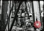 Image of construction of bridge Wiesbaden Germany, 1954, second 30 stock footage video 65675031784