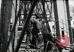 Image of construction of bridge Wiesbaden Germany, 1954, second 36 stock footage video 65675031784