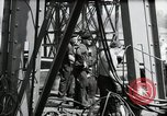 Image of construction of bridge Wiesbaden Germany, 1954, second 37 stock footage video 65675031784