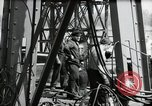 Image of construction of bridge Wiesbaden Germany, 1954, second 38 stock footage video 65675031784