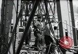 Image of construction of bridge Wiesbaden Germany, 1954, second 39 stock footage video 65675031784