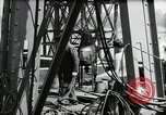 Image of construction of bridge Wiesbaden Germany, 1954, second 42 stock footage video 65675031784