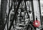 Image of construction of bridge Wiesbaden Germany, 1954, second 43 stock footage video 65675031784