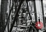 Image of construction of bridge Wiesbaden Germany, 1954, second 44 stock footage video 65675031784