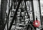 Image of construction of bridge Wiesbaden Germany, 1954, second 46 stock footage video 65675031784