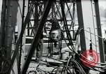 Image of construction of bridge Wiesbaden Germany, 1954, second 49 stock footage video 65675031784