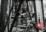 Image of construction of bridge Wiesbaden Germany, 1954, second 52 stock footage video 65675031784