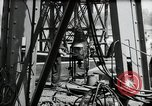 Image of construction of bridge Wiesbaden Germany, 1954, second 54 stock footage video 65675031784