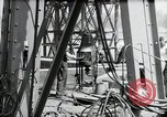 Image of construction of bridge Wiesbaden Germany, 1954, second 56 stock footage video 65675031784