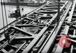 Image of construction work Mainz Germany, 1954, second 22 stock footage video 65675031789