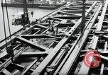 Image of construction work Mainz Germany, 1954, second 23 stock footage video 65675031789