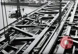 Image of construction work Mainz Germany, 1954, second 24 stock footage video 65675031789
