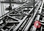 Image of construction work Mainz Germany, 1954, second 25 stock footage video 65675031789