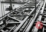 Image of construction work Mainz Germany, 1954, second 29 stock footage video 65675031789