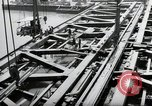 Image of construction work Mainz Germany, 1954, second 30 stock footage video 65675031789