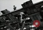 Image of construction work Mainz Germany, 1954, second 34 stock footage video 65675031789